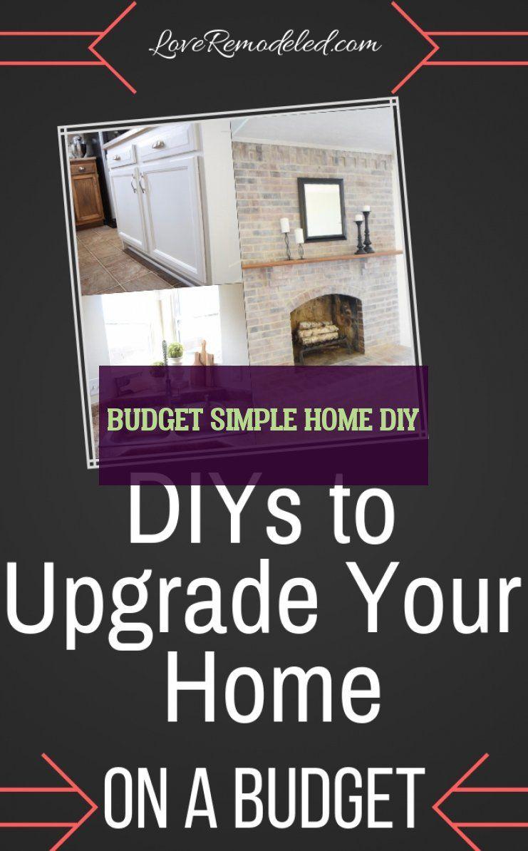 Budget simple home diy