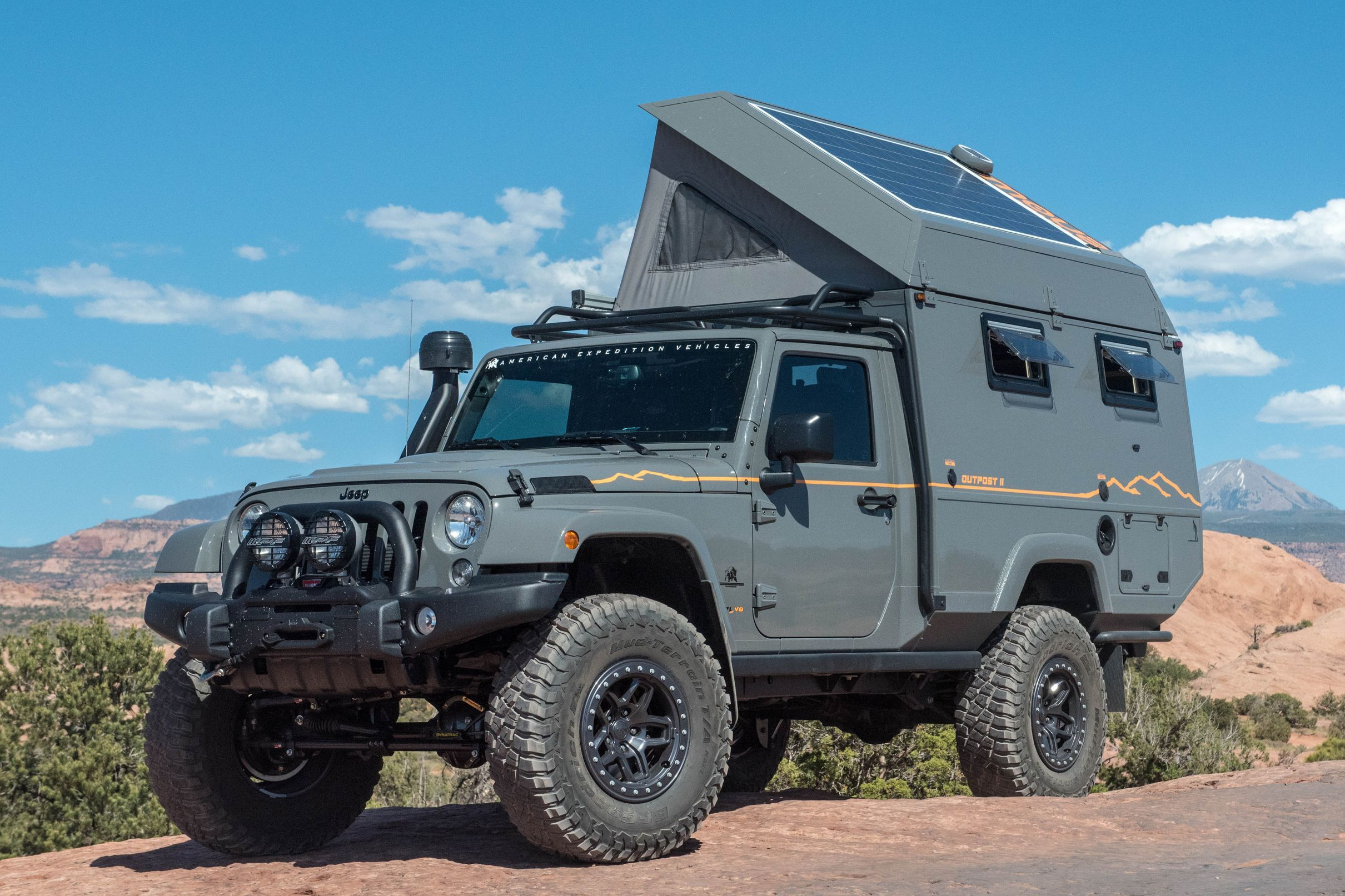Burly truck camper is expedition ready Overland vehicles