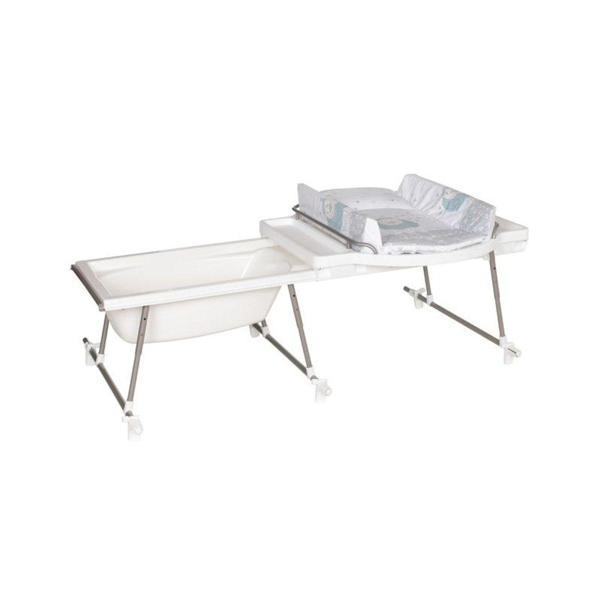 Combine Baignoire Et Table A Langer Aqualino Mouton Geuther