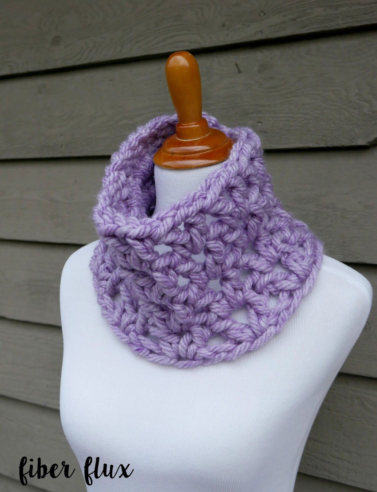 Free Crochet Pattern: Quickie Gift Cowls! | Hat knitting ...