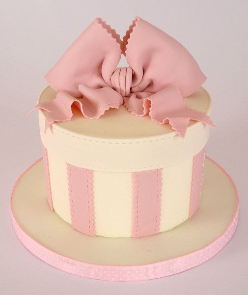 Decorating Hat Boxes Mesmerizing A Cool Mothers Day Vintage Hat Box Cake Idea & Tutorial Cakes Design Inspiration