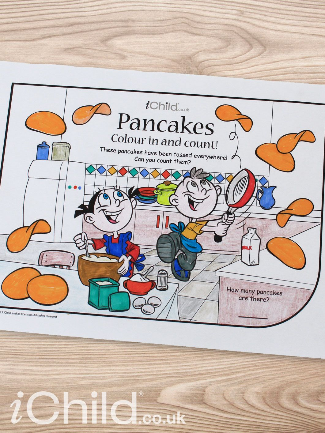 Enjoy Our Many Activities To Celebrate Pancake Day