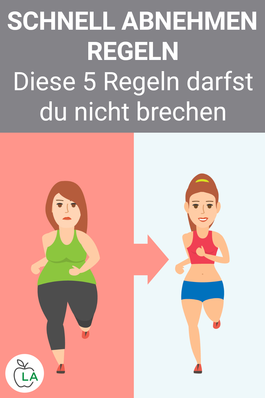 Schnell abnehmen: Extrem viel Fett verbrennen durch diese 5 Regeln        Schnell abnehmen: Extrem v...