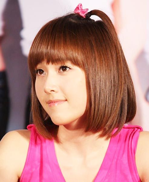 Jessica Jung Hairstyles And Hair Colors Hair Styles Korean Hairstyle Bob Hairstyles