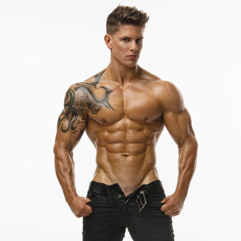 Muskulöse Jungs