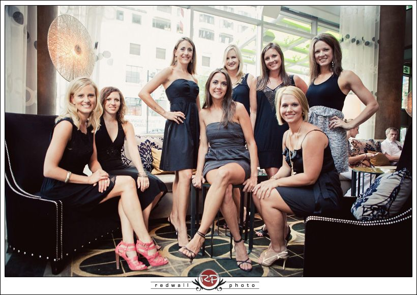 Bachelorette Party Theme Idea Little Black Dress