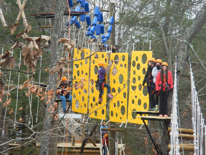 Asheville Treetops Adventure Park | Ziplines | High Ropes Challenge |Wildwater Rafting u0026 Canopy Zipline & Asheville Treetops Adventure Park | Ziplines | High Ropes ...