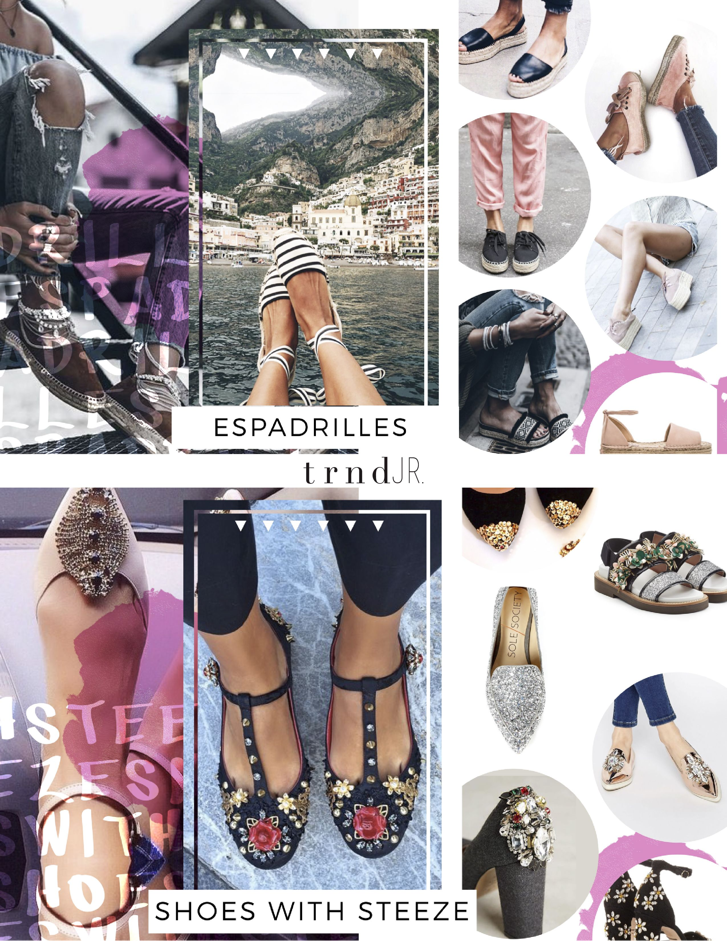SS18 Trend Report - Footwear {Direction for the Junior and Young  Contemporary fashion
