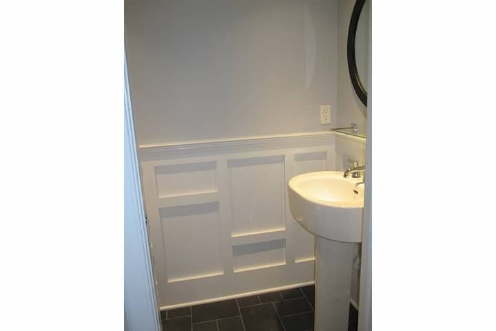 Contemporary Wainscoting Bathroom Decor In 2019 Dining