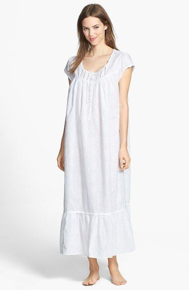 Eileen West  Stellar Sky  Embroidered Ballet Nightgown  a62cb5178