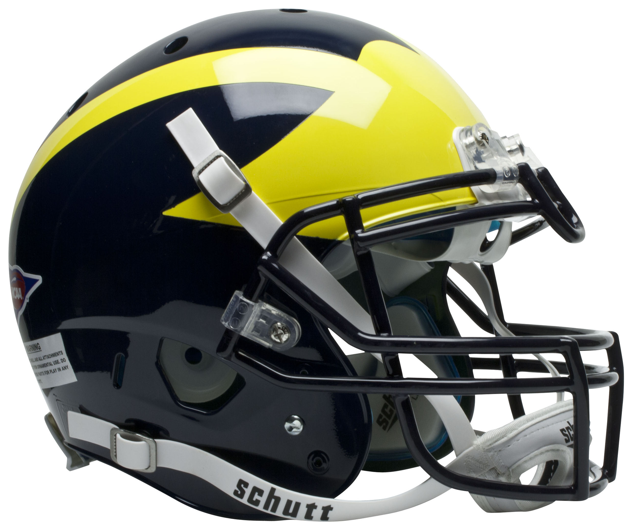 Michigan Wolverines Authentic Schutt Xp Full Size Helmet Football Helmets Football Helmet