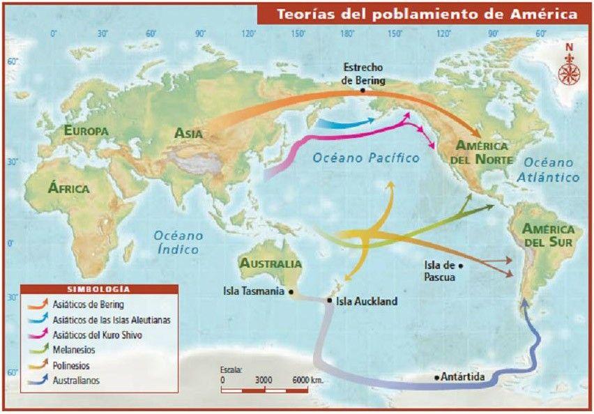Pin De Gabit En Prehistoria Poblamiento De America Poblamiento Americano Estrecho De Bering