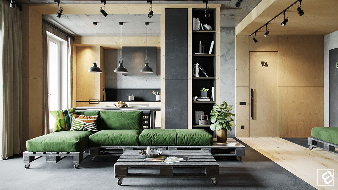 Nothing Says Effortless Cool And Easy Maintenance Than An Industrial Style  Living Room. Exposed Part 58