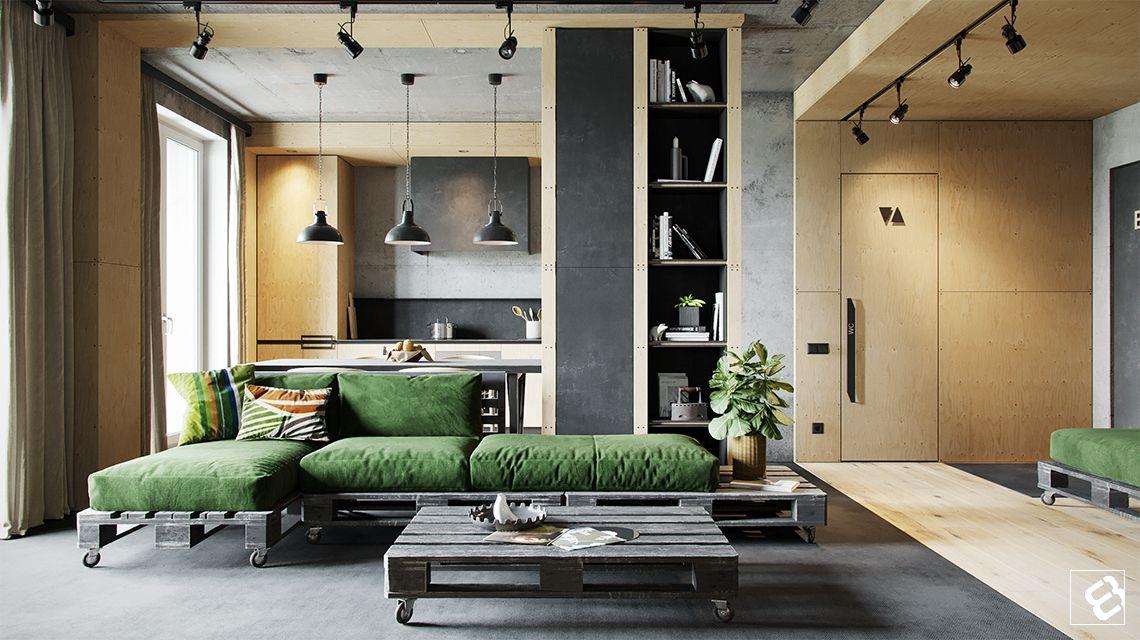 Dise o de sala de estilo industrial la gu a esencial for Diseno industrial casas