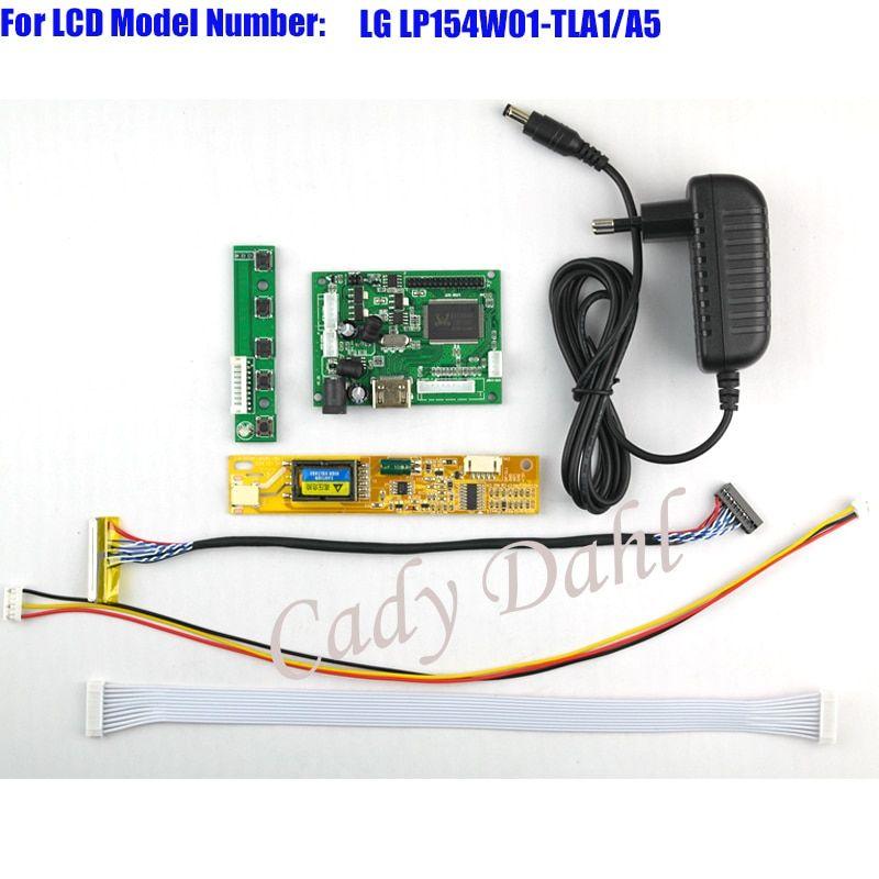 HDMI Controller Board + Backlight Inverter + 30Pins Lvds
