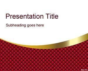 Plantilla de PowerPoint de Red Quirky | Powerpoint templates