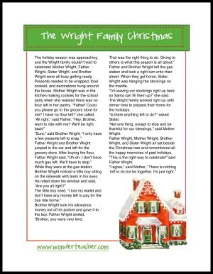 Christmas gift pass story