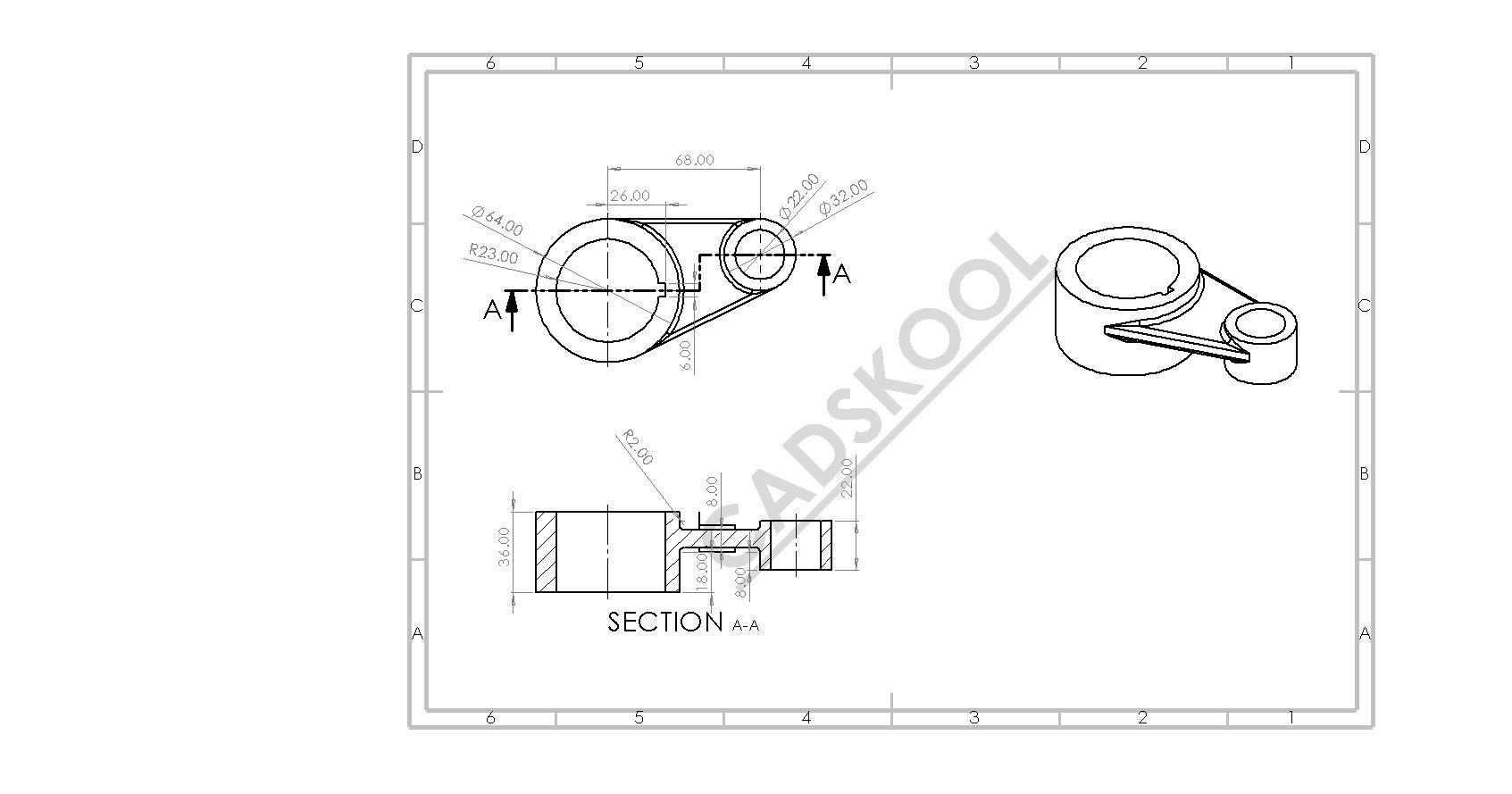 Sketch Based 3d Model In Solidworks