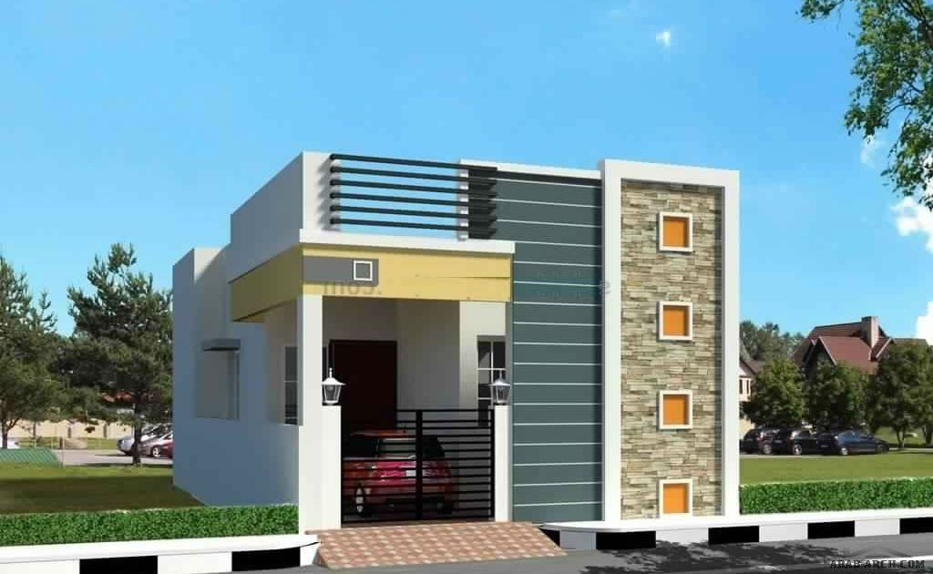 Front Elevation Designs Single Floor In 2020 Small House Front Design Small House Elevation Design House Front Design