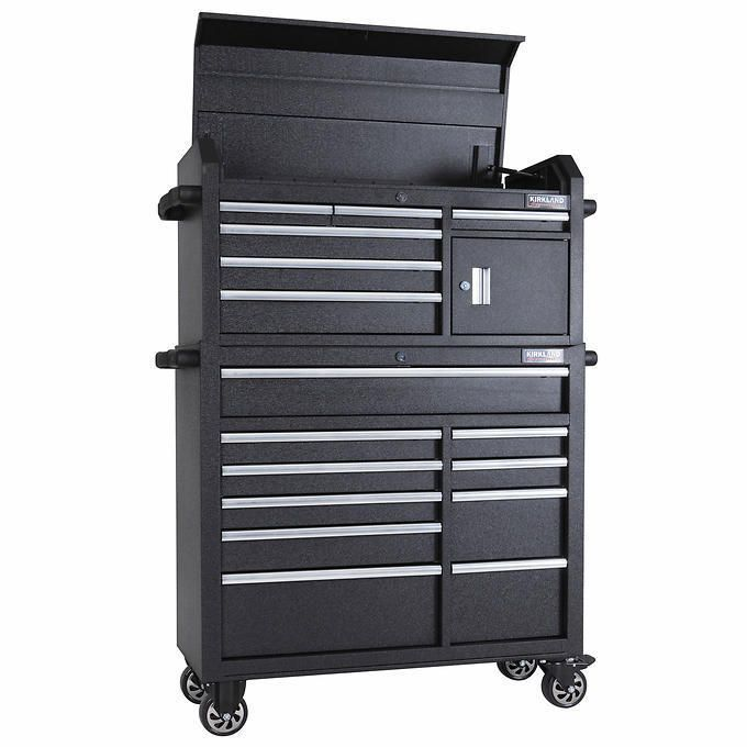 Tool Box Chest Cabinet 42 Tool Storage Drawers Rolling Mechanic Portable Lock Kirkland Tool Chest Tool Box Tool Storage
