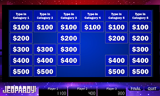 FREE macro-enabled Jeopardy PowerPoint Template  Download this and