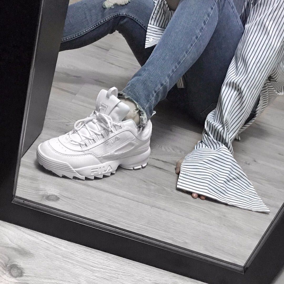 release date: ff5e9 8b862 Instock - Fila Disruptor II Mens Sneakers, Men s Fashion, Footwear on  Carousell