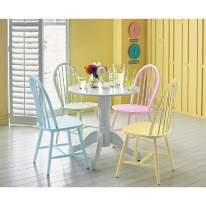 Kentucky Dining Chair - Blue at Homebase -- Be inspired and make ...