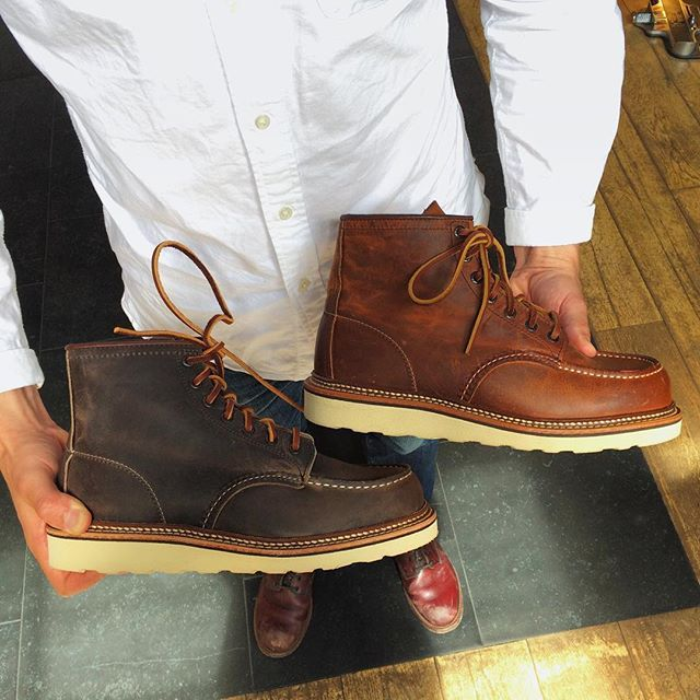 Red Wing Shoes Amsterdam - We are creating a new Red Wing Heritage ...