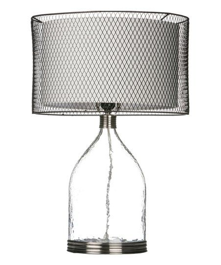 25 Bottle Lamp & Wire Shade | zulily