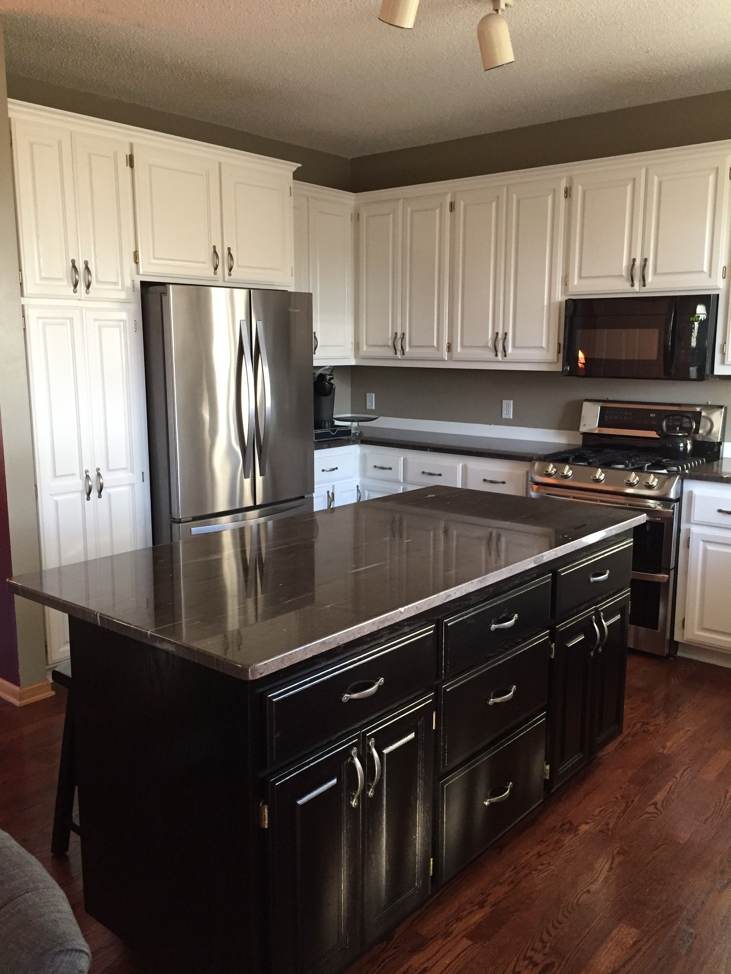 Cabinet Color Change | Cabinet colors, Custom cabinets ...