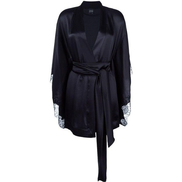 Carine Gilson short kimono (103.590 RUB) ❤ liked on Polyvore ...