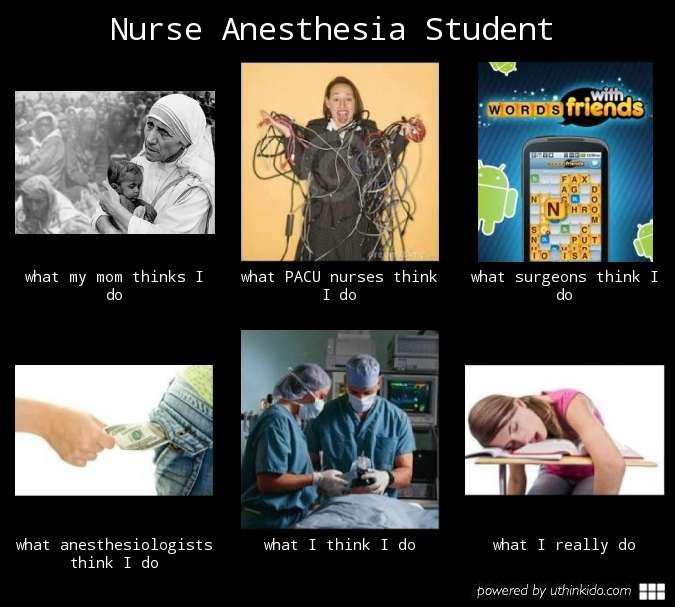 Basically Sums It Up Except Exchange Nurse Anesthesia For