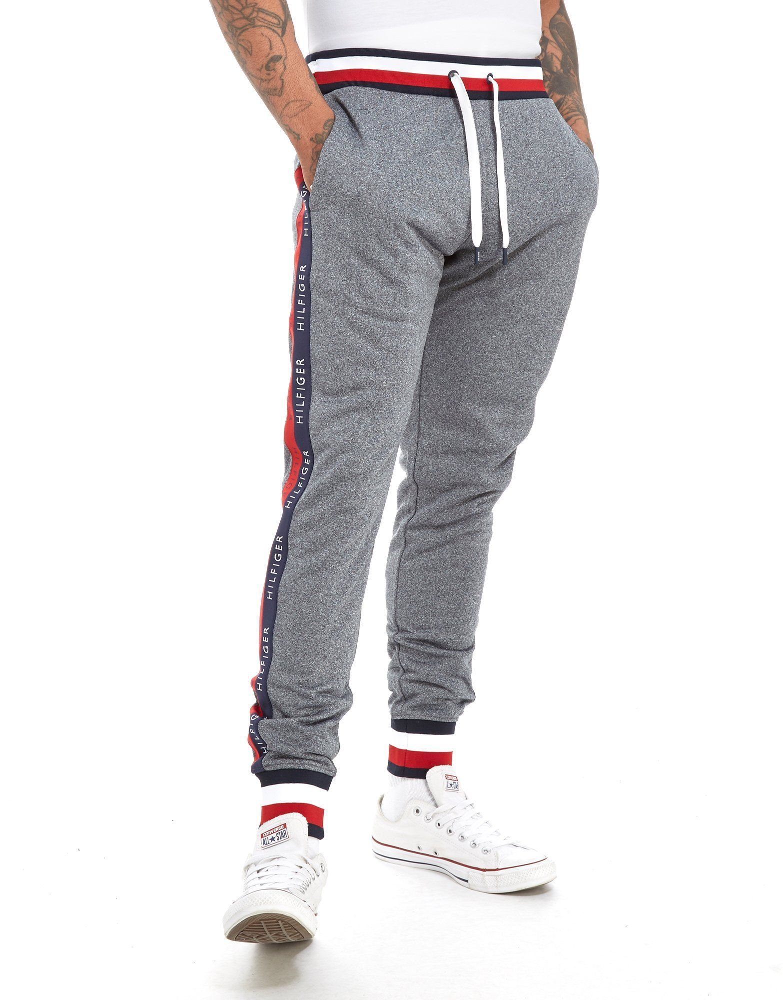 f52c05a4 Tommy Hilfiger Tech Terry Tape Pants - Shop online for Tommy Hilfiger Tech  Terry Tape Pants with JD Sports, the UK's leading sports fashion retailer.