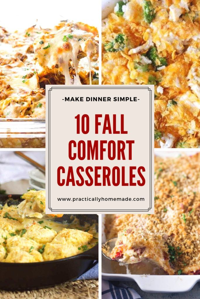 10 Fall Comfort Casseroles {Round-up} images