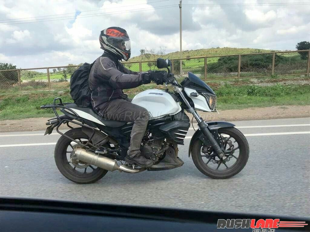 Car Carrier Olx Mahindra Mojo Accessories Laden Bike Spotted Testing