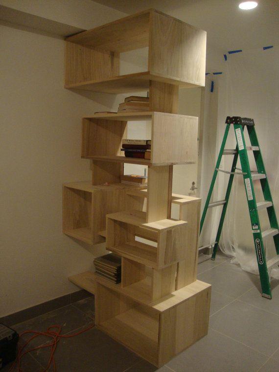 Custom Shelving Ideas custom made wall bookcasestornewyork on etsylove this wall