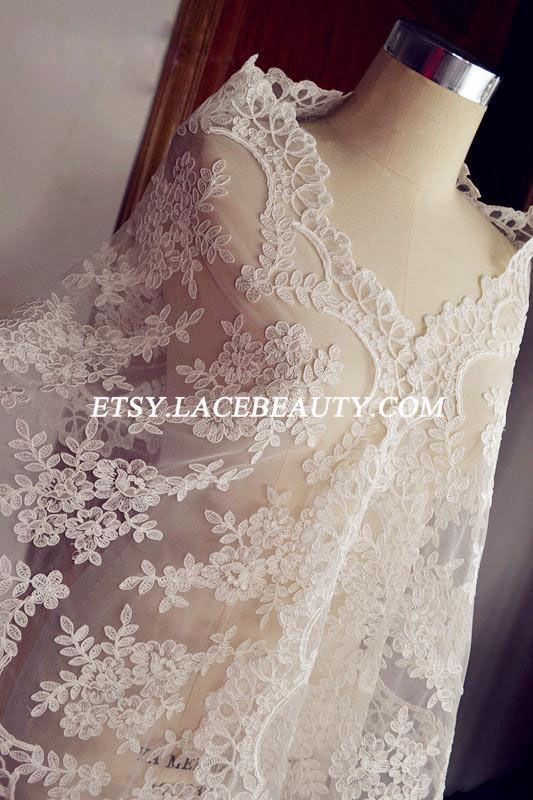Fabelhafte Elfenbein Hochzeit Lace Trim Luxus von Lacebeauty, $18.99
