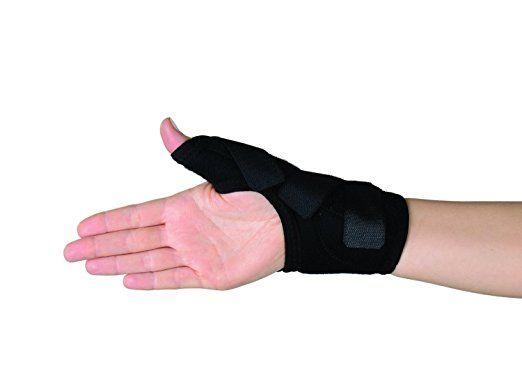 Orthèse main Soles - Ajustable, attelle en néoprène respirant- Taille unique -Réduit les douleurs de Polyarthrite chronique évolutive, le syndrome carpien et stabilise les ligaments - Attelle post opératoire