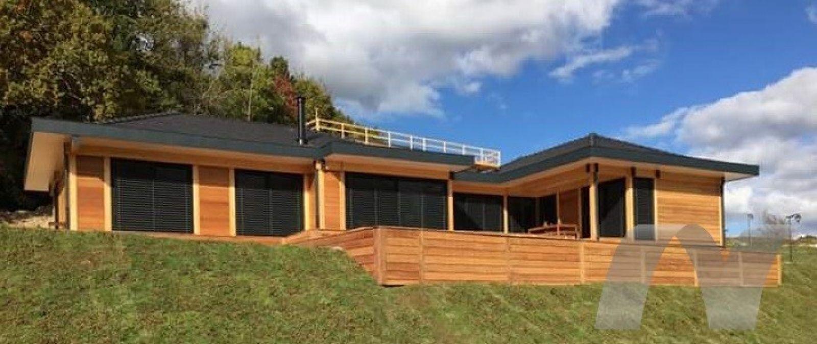 Maison En Bois Annecy maison construite en bois à sillingy prêt d'annecy | maison
