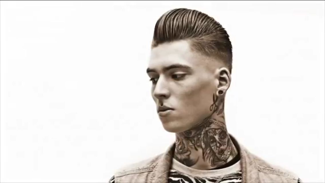 Pompadour hairstyle | Barbering | Pinterest