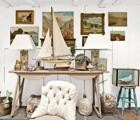 11 Nautical Vintage Wall Art Ideas With Seascape Paintings