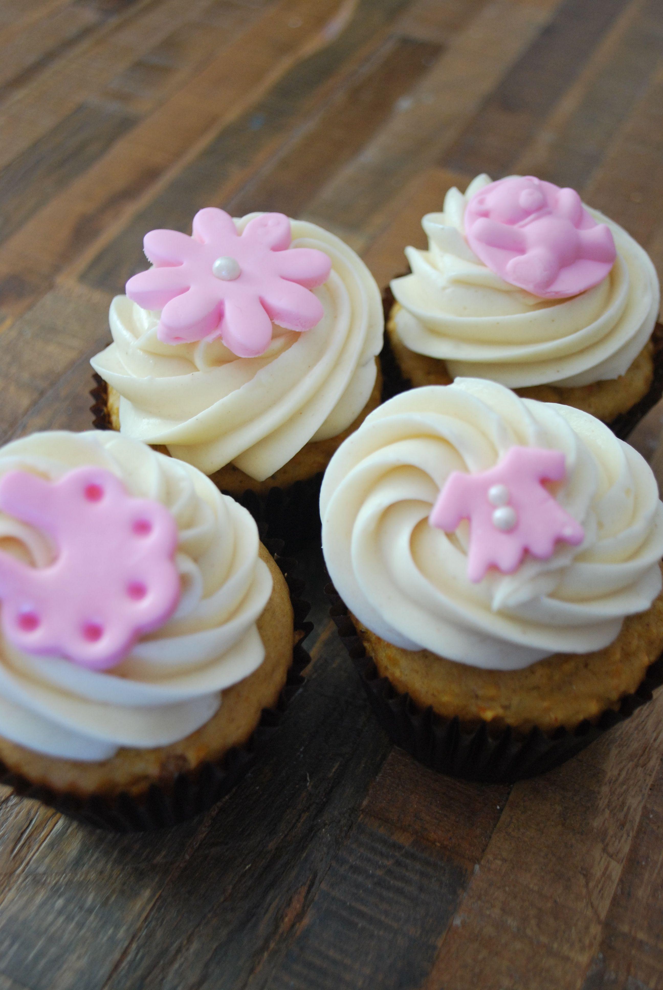 Baby Girl Shower Cupcakes Girl Shower Cupcakes Tiny Cakes Baby