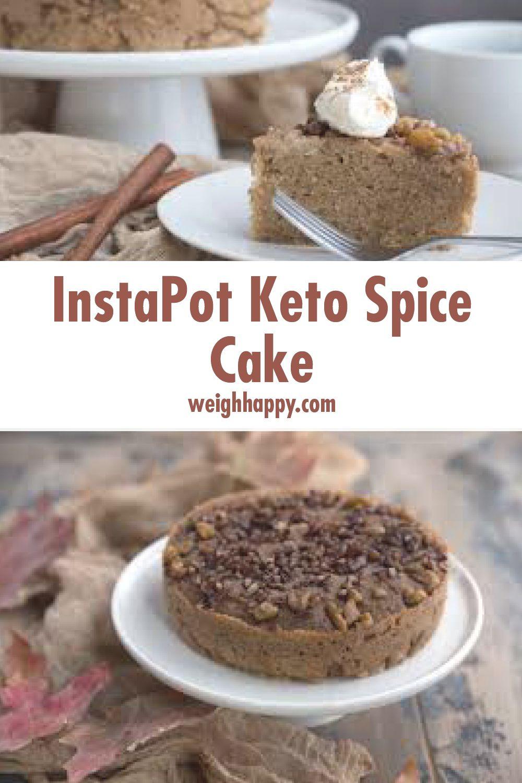 Instapot Keto Spice Cake Recipe Low Carb Recipes
