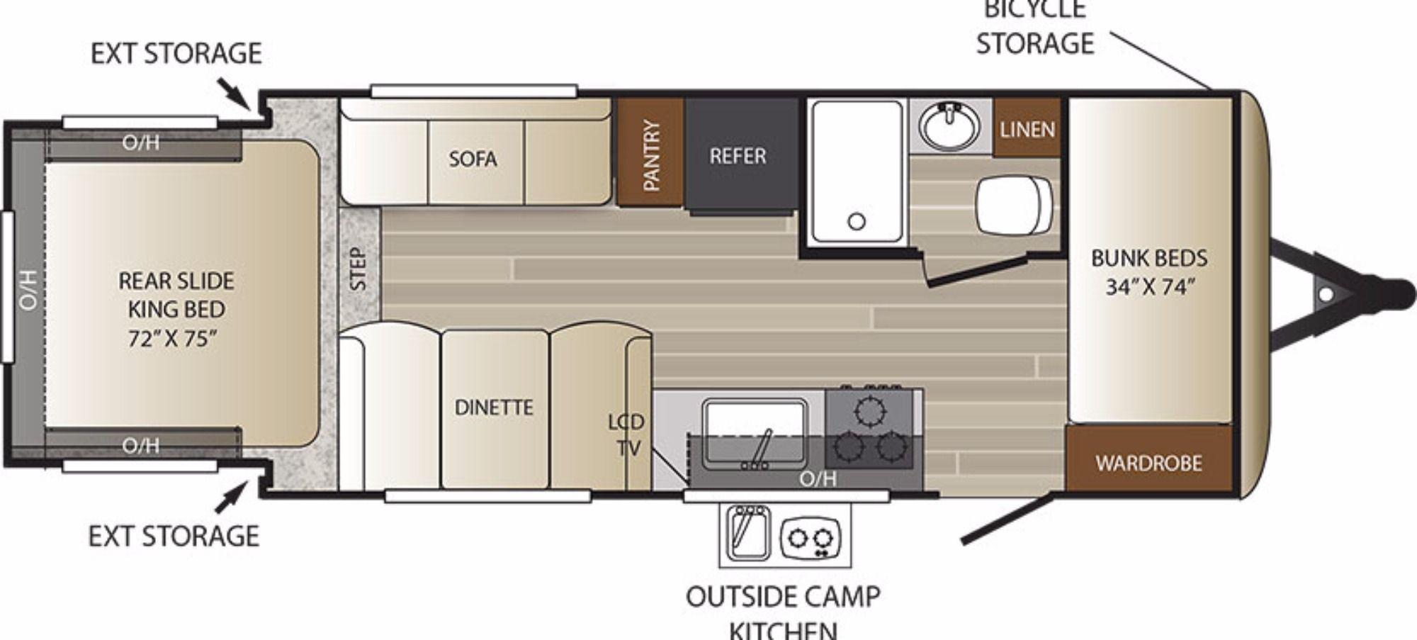 Bathroom Keystone outback, Bunkhouse camper, Campers for