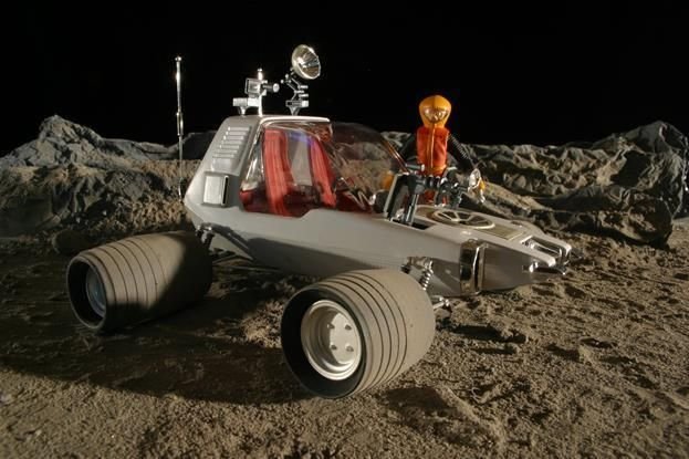 Space 1999 Moon Buggy Great New POSTER