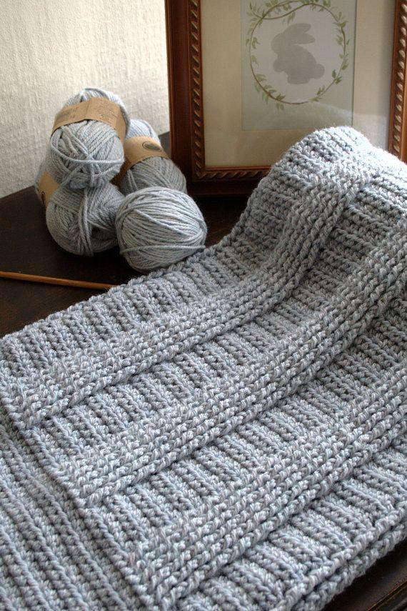 Crochet Pattern - Crochet Afghan Pattern Crochet Baby Blanket ...