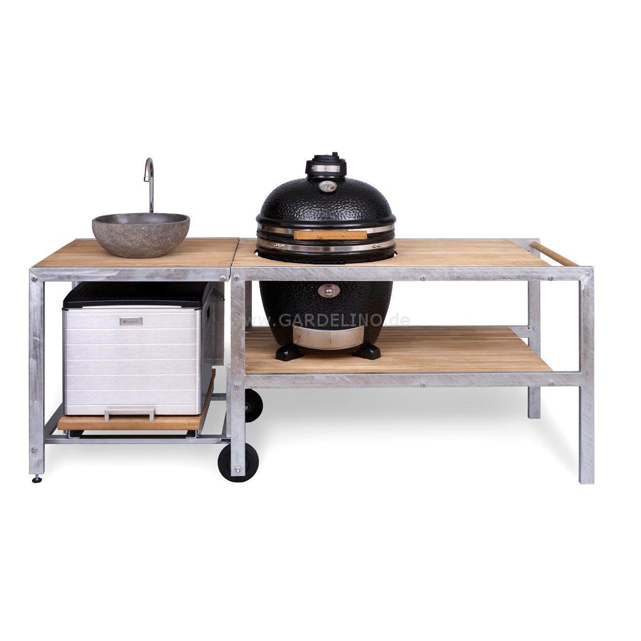 outdoork che mit monolith grill sp le und garda m bel pinterest grill z une und m bel. Black Bedroom Furniture Sets. Home Design Ideas