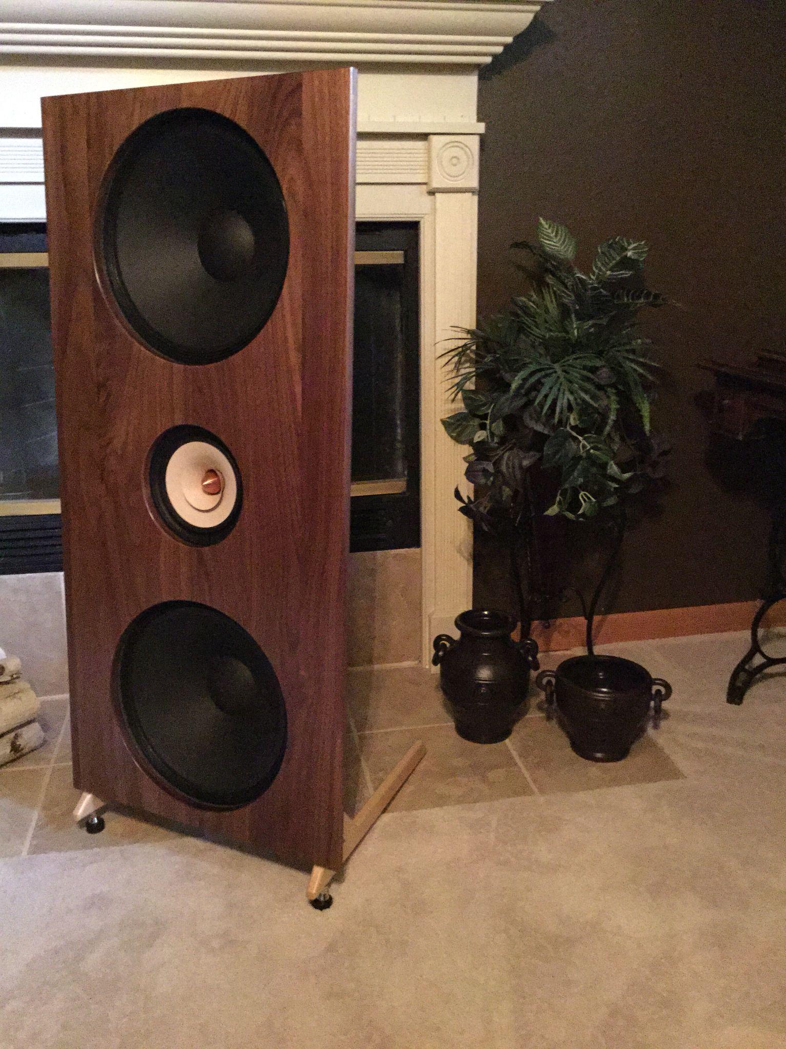 RAiny Lake Audio RLA15a open baffle speaker kit www