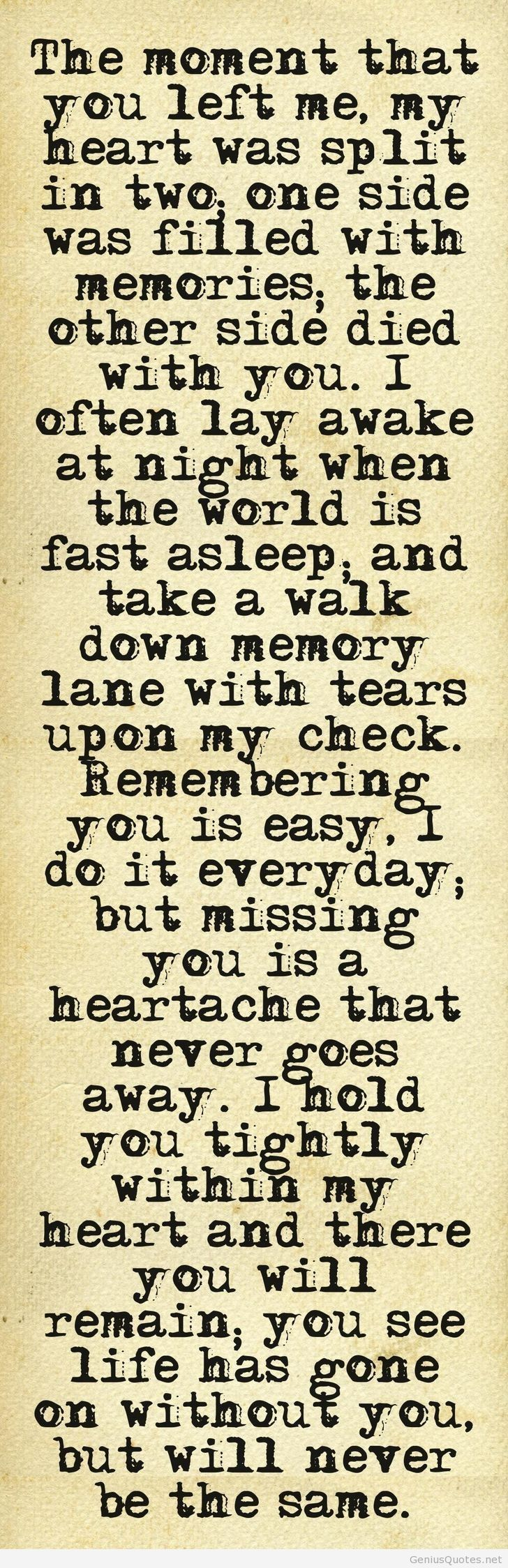 In Loving Memory Sayings And Quotes Nice Sayings Goodbye And You Left Me Quote Check More At Https