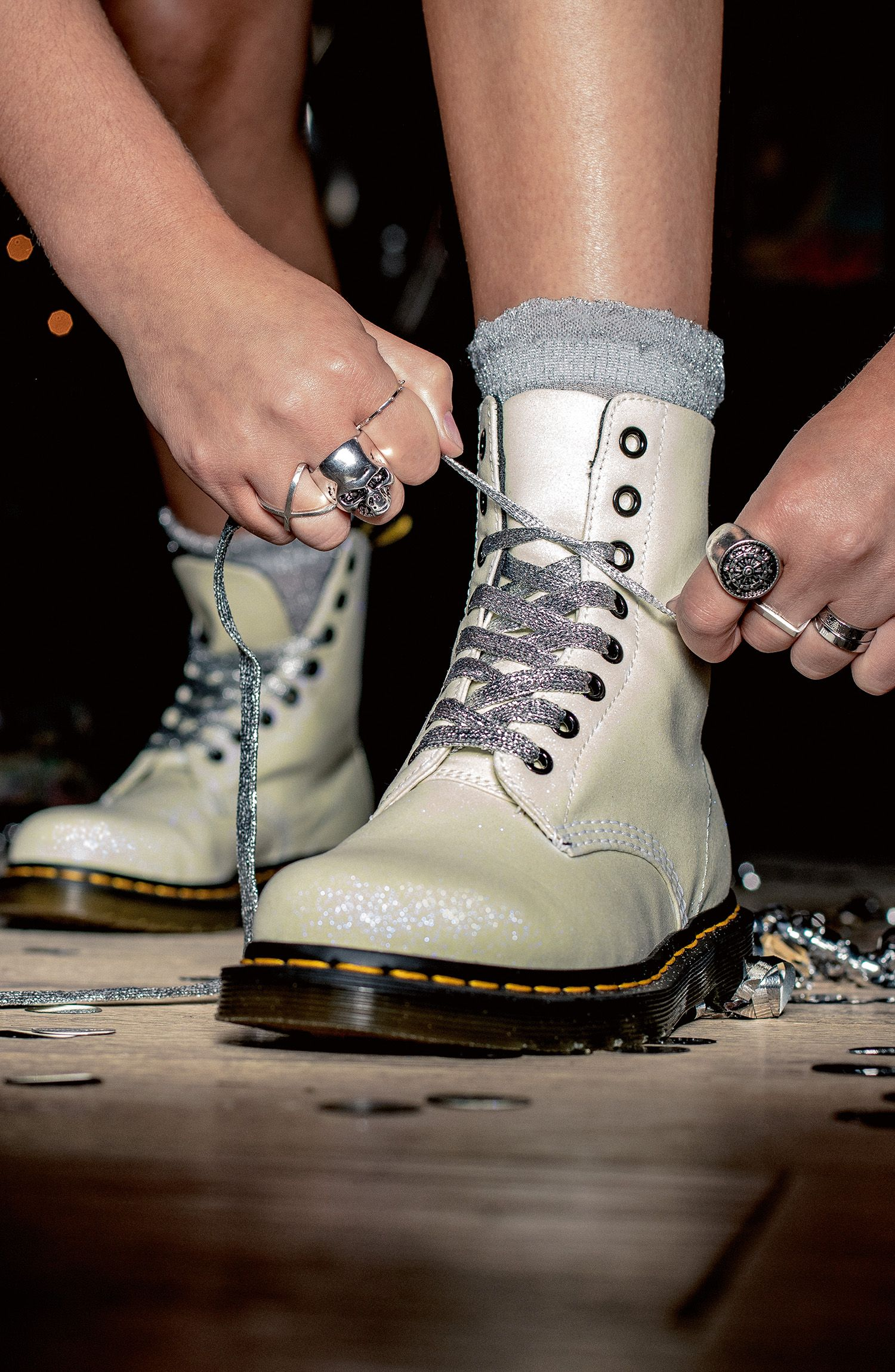 Iced Metallic Pascal | Chaussure, Mode, Idee look